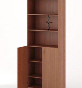 Шкаф ( светлый орех) + вертикальные жалюзи