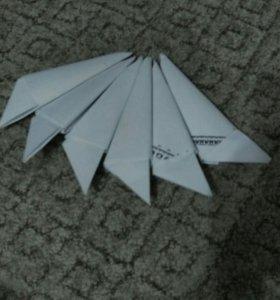 Когти из бумаги