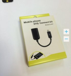 OTG Адаптер USB - Micro USB. Mobile Phone Conn Kit