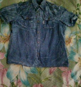 Рубашка джинсовая муржская