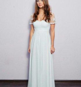 Платье свадебное на беременную