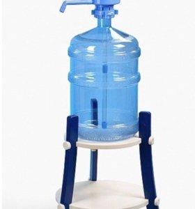 Подставка пластиковая DOLPHIN, для бутыли 19л