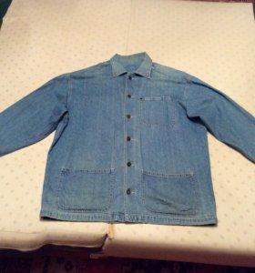 Куртка мужская размер 52-54 из облегченной джинсы
