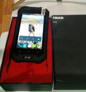 Защищенный смартфон X5