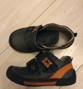 Ботинки кожа р.26