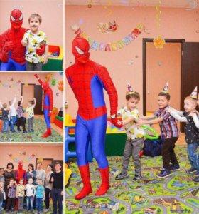 Человек- паук на День Рождения Вашего ребёнка