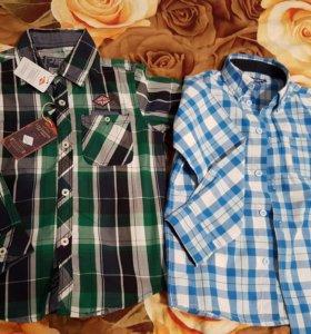 Рубашки мальчику 4-5 и 5-6 лет