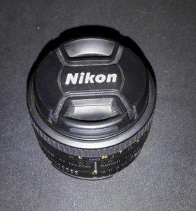 Объектив NIKON 50mm