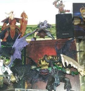 Фигурки World of Warcraft разные blizzard,