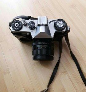 Фоторужье фотоснайпер с фотоаппаратом зенит