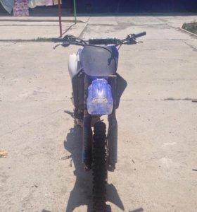 Yamaha yz250f год 2004