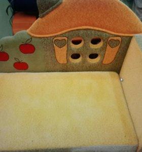Детский раскладной диван тахта