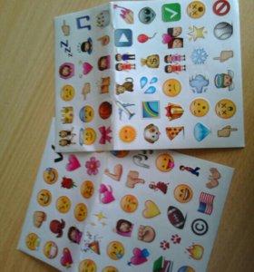 Стикеры Emoji для ноутбука
