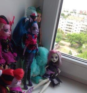 Куклы Монстер Хай (6 шт.)
