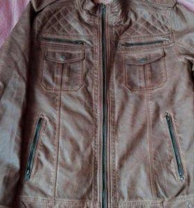 Куртка эко кожа мужская