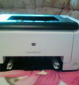Принтер hp LaserJet CP1025 color