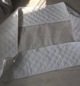 Бортики в кровать икея