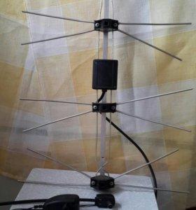 Антенна для телевизора.