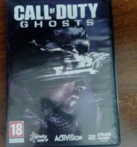 Диск CALL of DUTY Ghosts