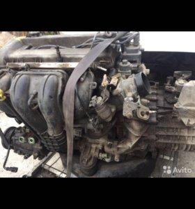 Двигатель и коробка FORD MONDEO