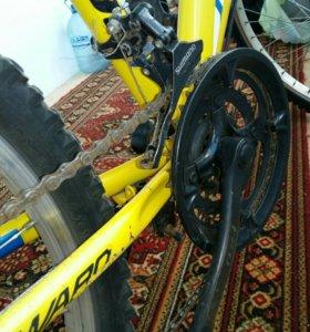 Велосипед подростковый,скоростной.