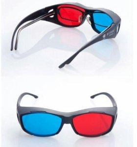 Универсальные 3d-очки, цена за пару