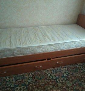 Кровать + матрац