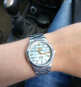 Часы мужские Orient crystal 21 jewels