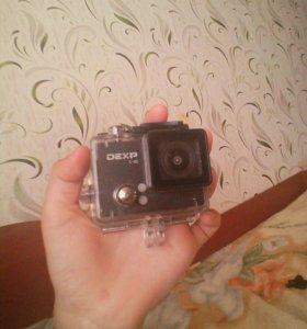 Экшен камера DEXP