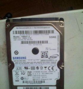 Винтчестер для ноутбука 640гб