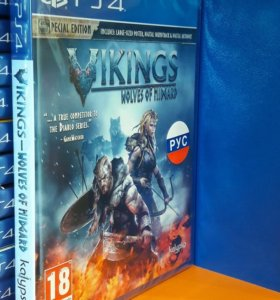 Vikings Wolves of Midgard Sony Playstation 4 PS4