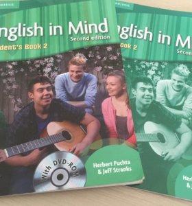 учебник и рабочая тетрадь по английскому
