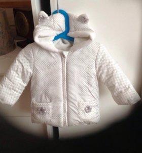 Куртка на девочку 1-1,5 года