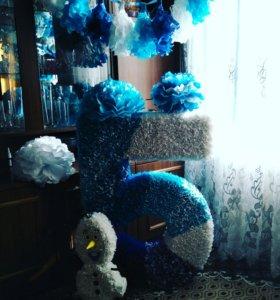 Декорации ко дню рождения