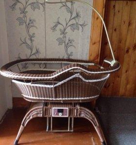 Детская электронная-люлька Baby cradle