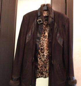 Куртка из замша