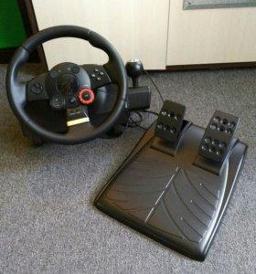 Руль для пк Logitech Driving Force GT