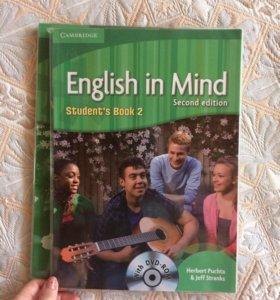 """Учебник по английскому языку """" English in mind"""""""