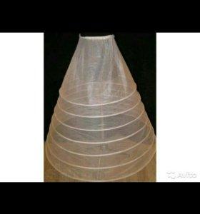 Фата кринолин платье
