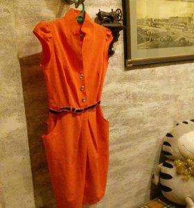 Удобное , легкое платье размер 46