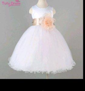 4-7лет новое платье