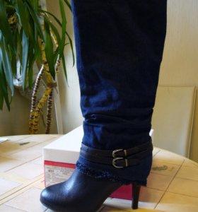 Новые, джинсовые сапоги Betsy, 39 размер