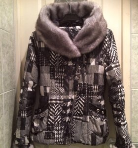 Куртка с капюшоном, 42-44 размер