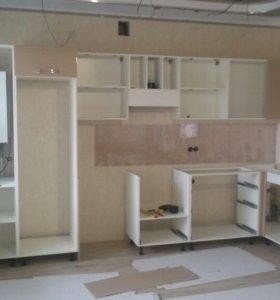 Сборка установка корпусной мебели цена договорная.