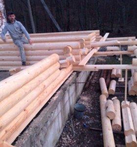 Строительство срубов и каркаснощитовых домов