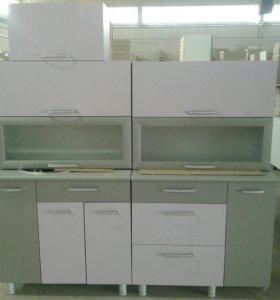 Кухонный гарнитур 1.8 м с выкатным столом