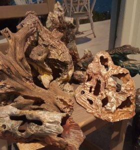 Керамика для украшения аквариума