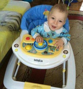 Продам детские ходунки -качалка Baby