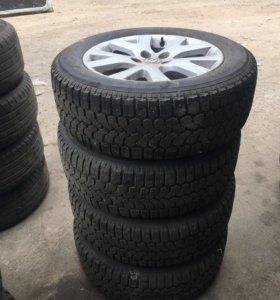 Зимние колёса на мазду cx 7