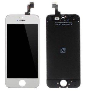 Дисплей iPhone 5s + тачскрин Белый Замена